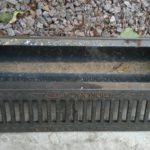 Открытый желоб ливневой канализации 2