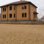 Планировка песком