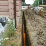 Создание ливневая канализации