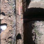 Укладка трубы ливневой канализации 1