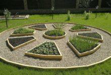 Декоративный огород Солнце